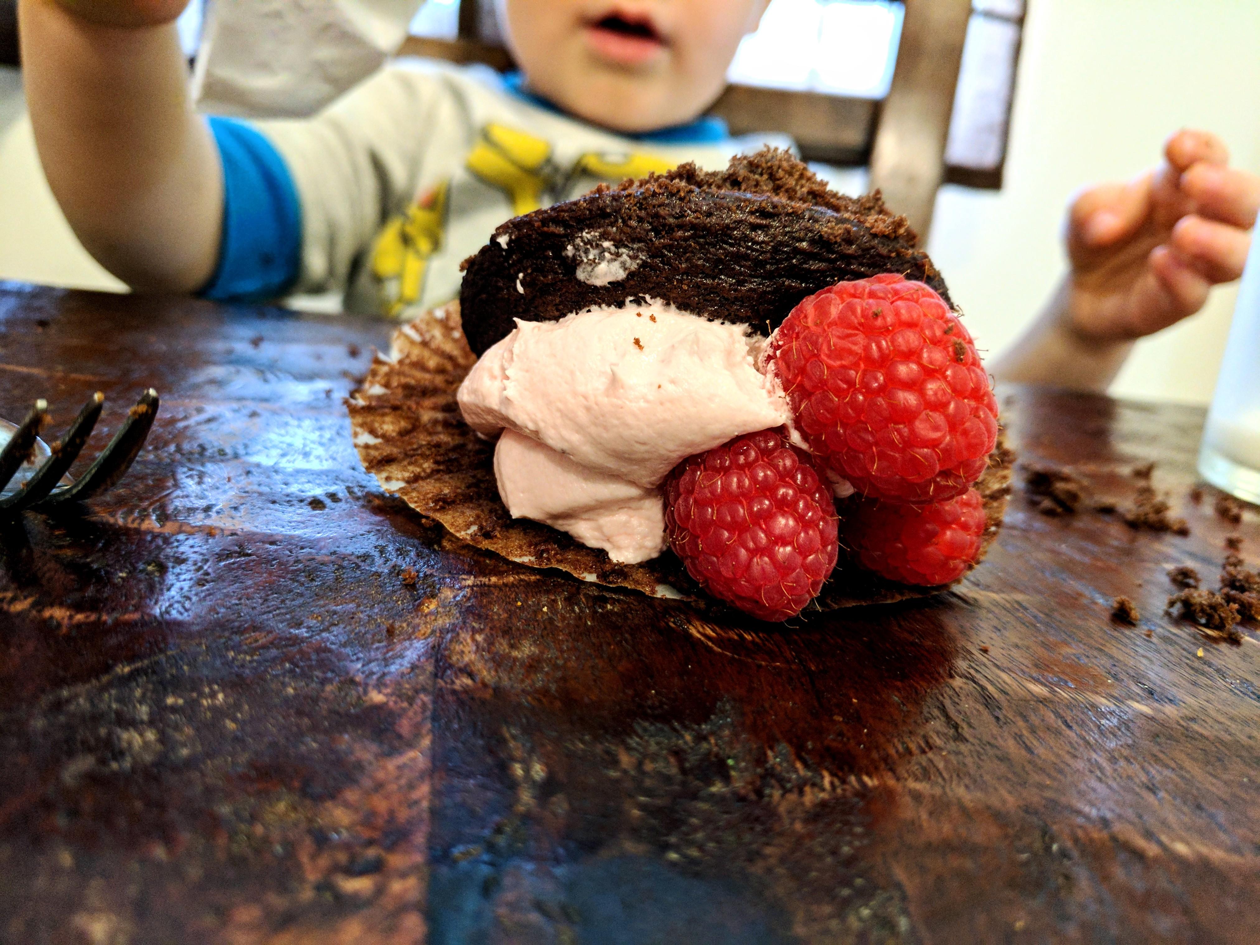 Poor cupcake